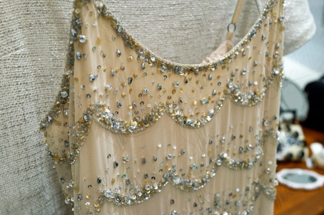 Sequin Top Close Up
