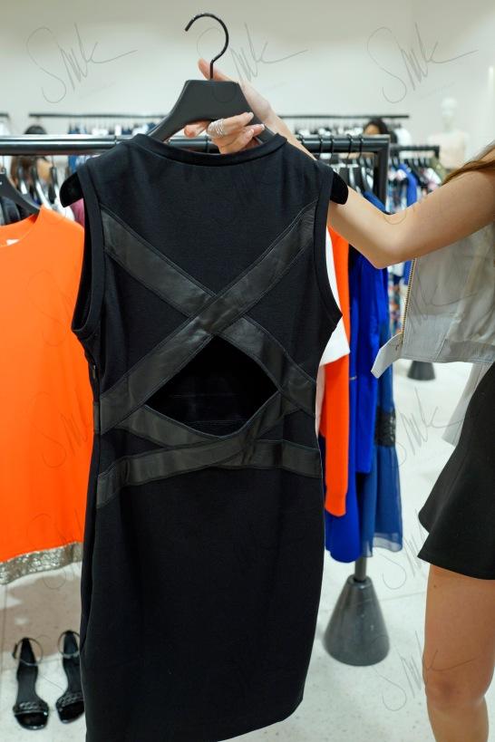 Cutout Back Dress