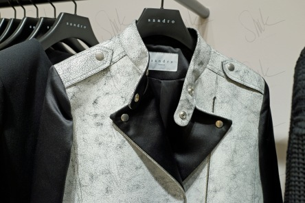 Deconstructed Leather Jacket
