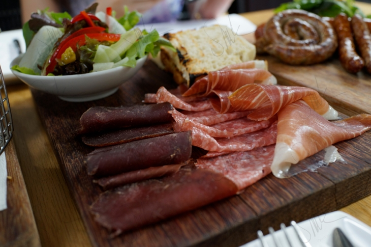 Sausage and Antipasti Platters
