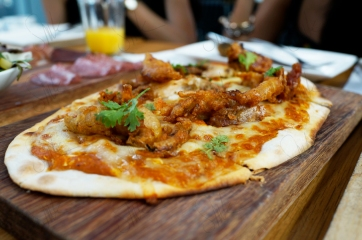 Chilli Cheese Crab Pizza