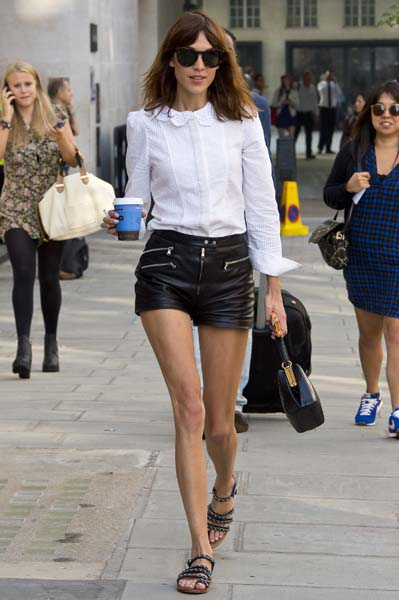 Alexa Chung Sightings In London - September 5, 2013