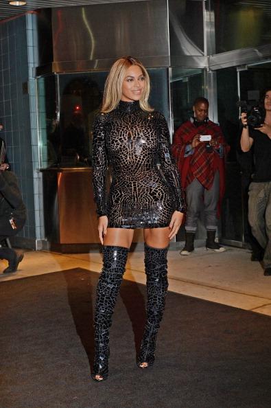 Celebrity Sightings in New York - December 21, 2013