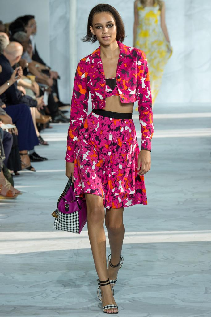 Dvf Spring 2014 Long Maxi Wrap Dress DVF