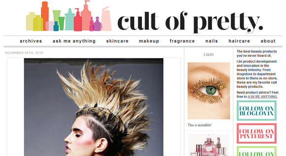 cult-of-pretty-website
